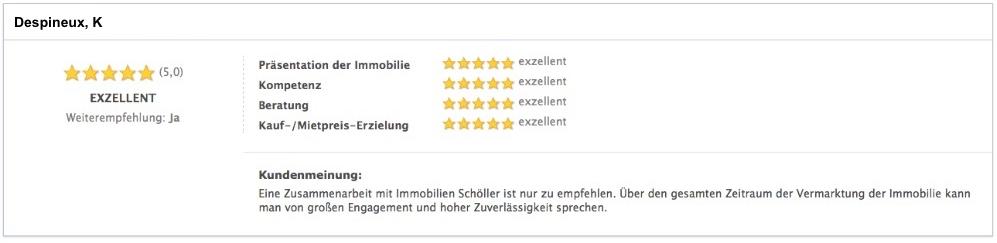 Immobilienmakler mit Top Bewertung in Köln